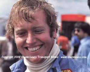 Damien Magee . Photo. Silverstone. F5000 Sept 1975